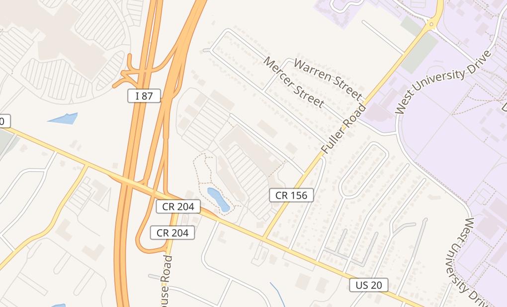 map of 1475 Western AveAlbany, NY 12203