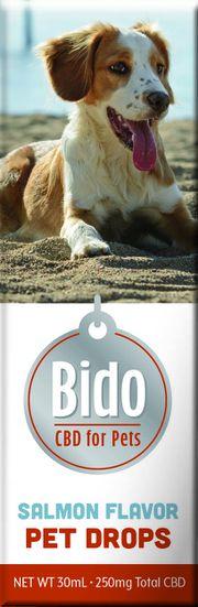 Bido Hemp CBD Drops, Salmon Flavor - 30mL at Curaleaf Hudson Valley