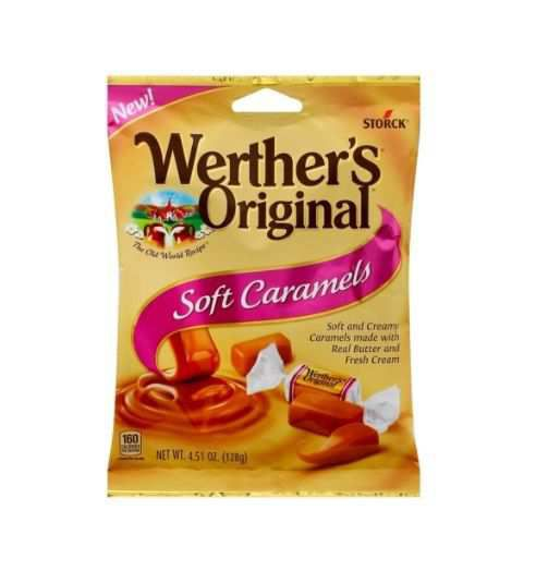 4 51 oz werthers original soft caramels candy 119397 hamilton oh