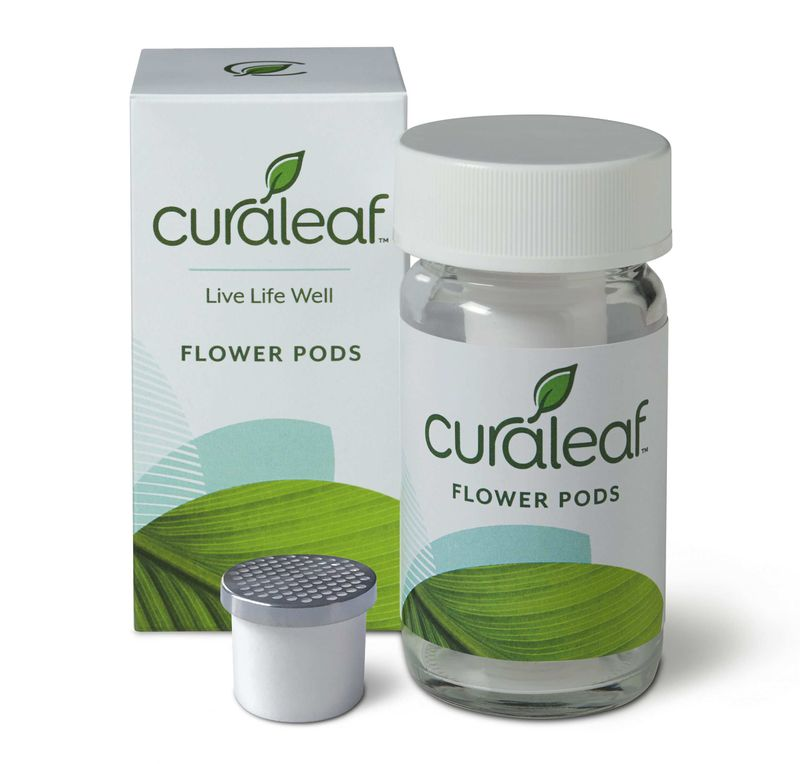Ground Flower Pods Indica 20:1 - 700mg - Curaleaf