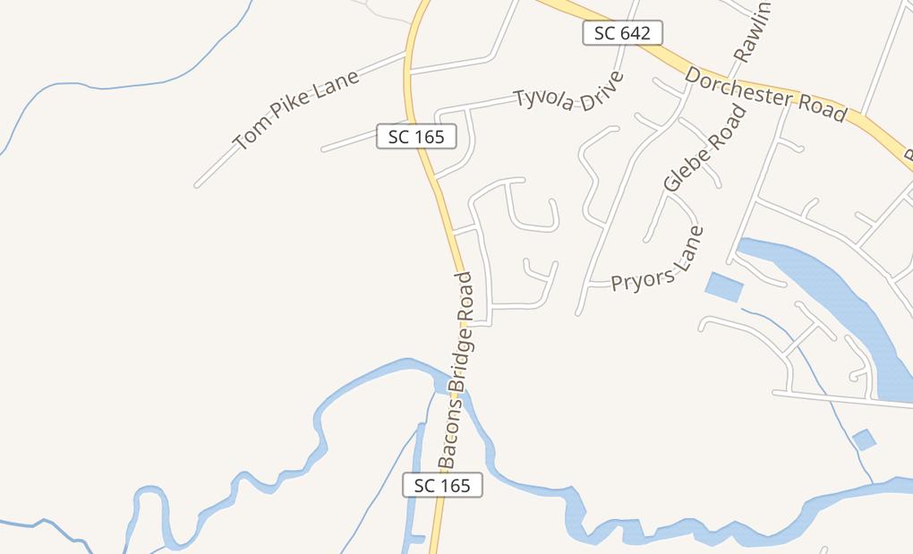 map of 608 Bacons Bridge Rd Ste 614Summerville, SC 29485