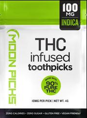 Toothpicks | Tahoe OG X GDP | Fruity Pebbles 1:1 | 10 PK | 100mg THC 100mg CBD at Curaleaf AZ Glendale