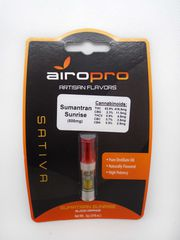 AiroPro Sumantran Sunrise .5g Cart at Curaleaf Airpark