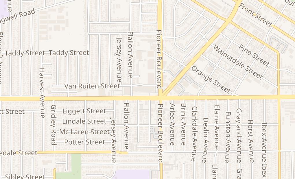 map of 11719 Rosecrans AveNorwalk, CA 90650