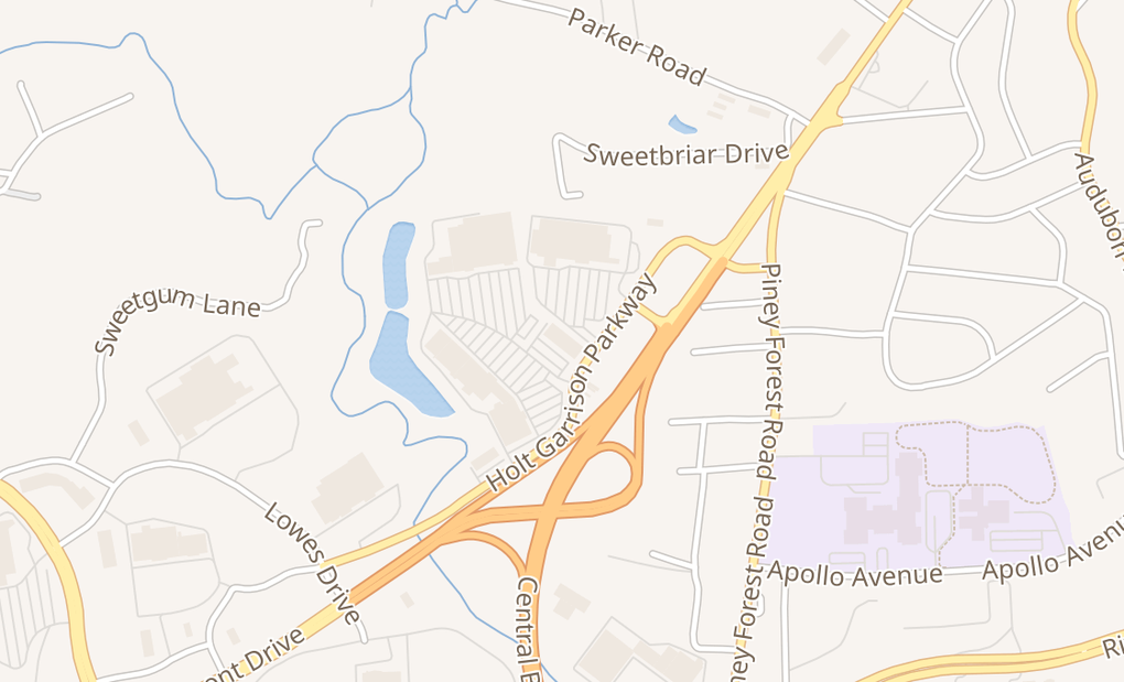 map of 165 Holt Garrison Pkwy Ste 595BDanville, VA 24540