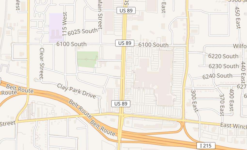 map of 6191 S State St Ste 1925Salt Lake City, UT 84107