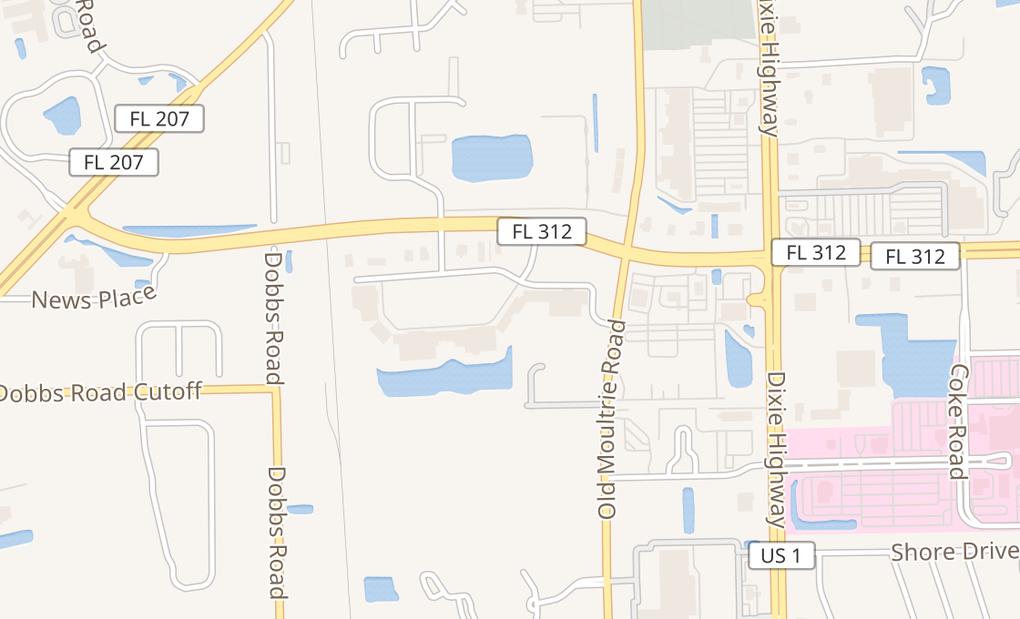 map of 200 C B L Dr Ste 109Saint Augustine, FL 32086
