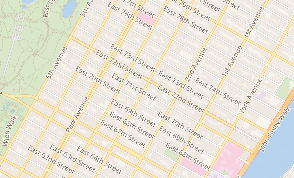 map of 1231 3Rd Ave Ste CNew York City, NY 10021