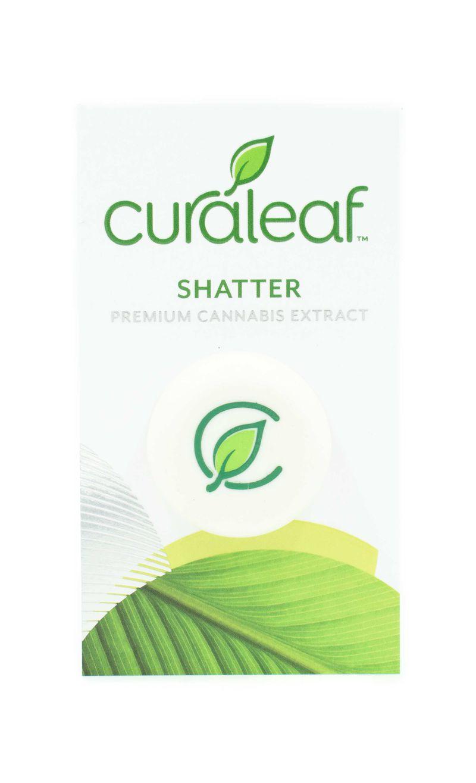 THC Shatter White Widow (Ww)-Hybrid-1.0g - CURALEAF
