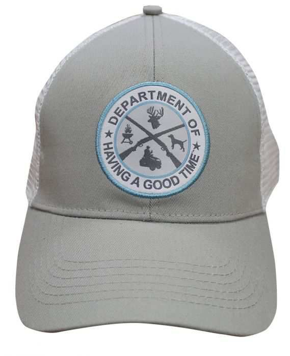 Lincoln Outfitters Dept. of Having a Good Time Grey Cap LOCAP-125 - Lincoln d2386f44bcc