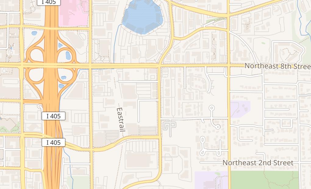map of 661 120Th Ave Ne Ste 15BBellevue, WA 98005