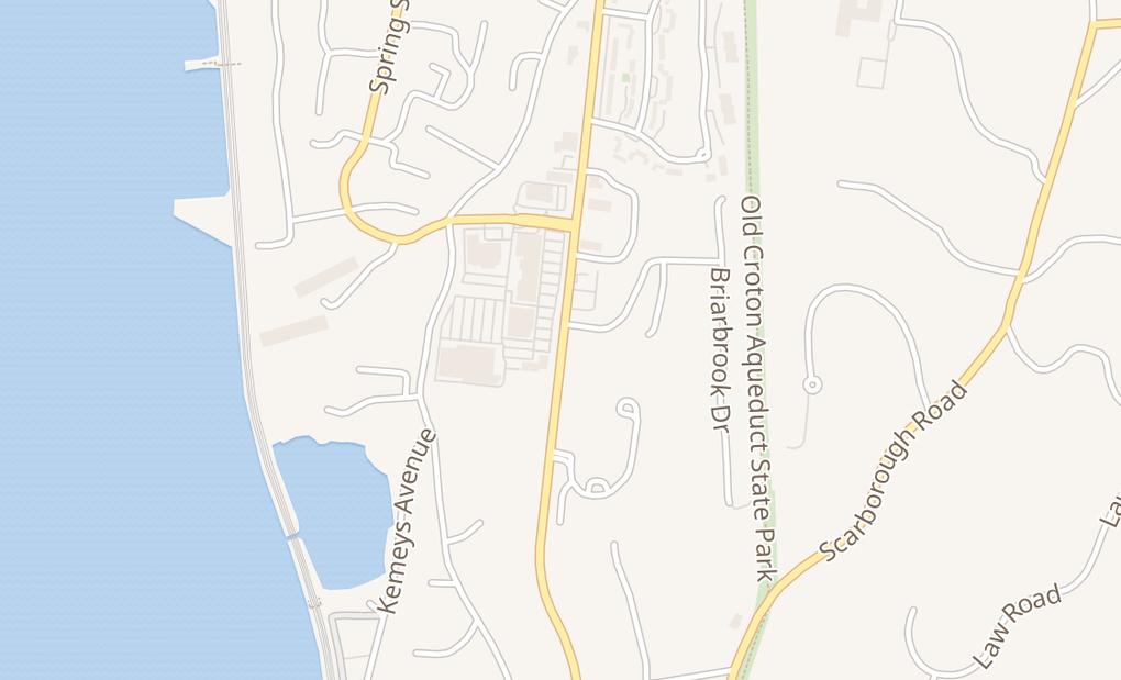 map of 240 S Highland AveOssining, NY 10562