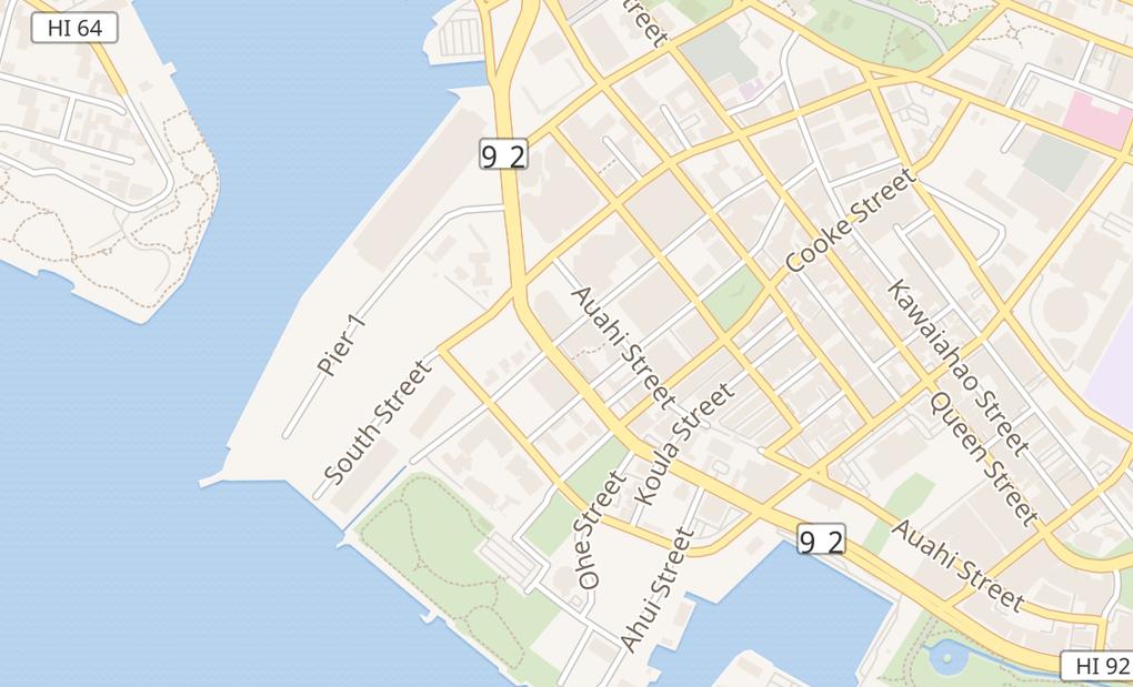 map of 660 Ala Moana Blvd Ste 100Honolulu, HI 96813