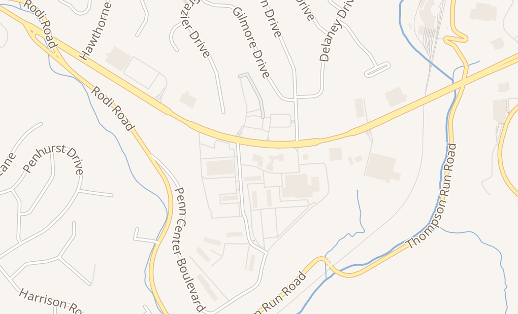 map of 3442 William Penn HwyPittsburgh, PA 15235