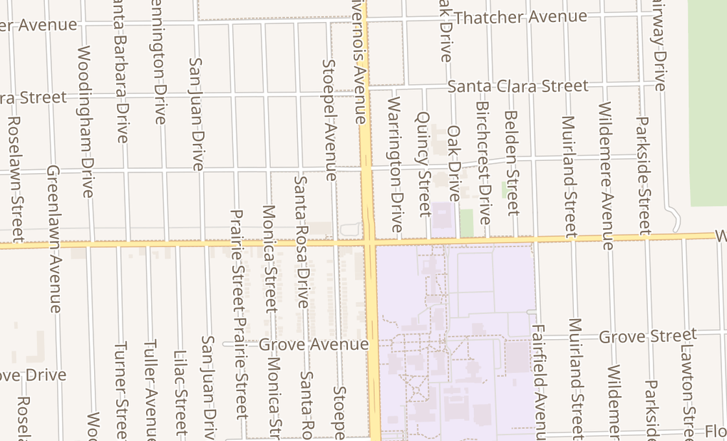map of 17149 Livernois AveDetroit, MI 48221