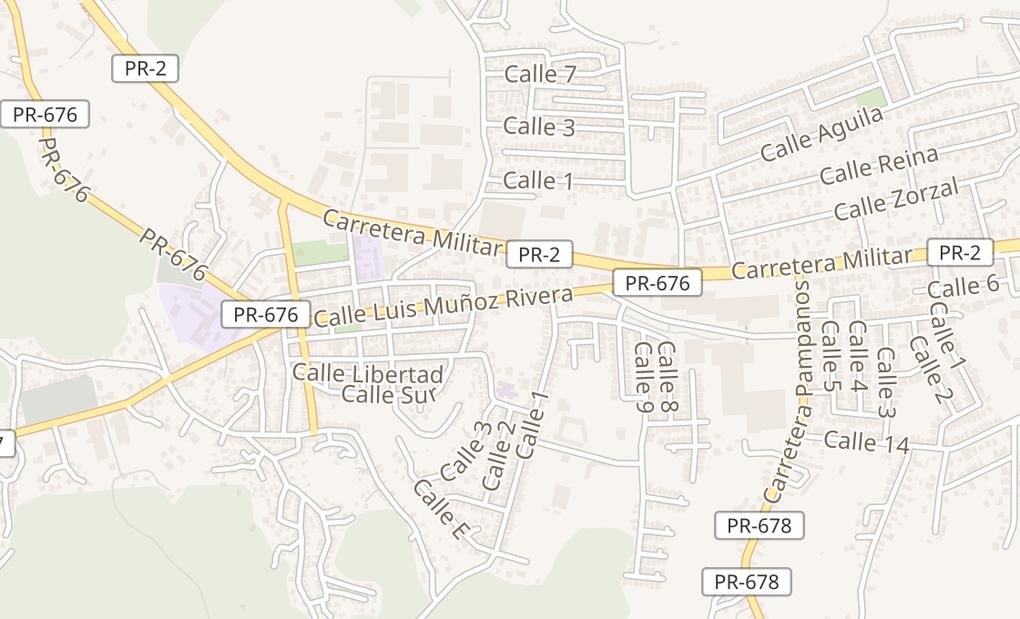 map of 140 Carr 678 Spc K26Vega Alta, PR 00692