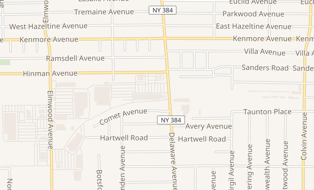 map of 2636 Delaware Ave Ste 200Buffalo, NY 14216
