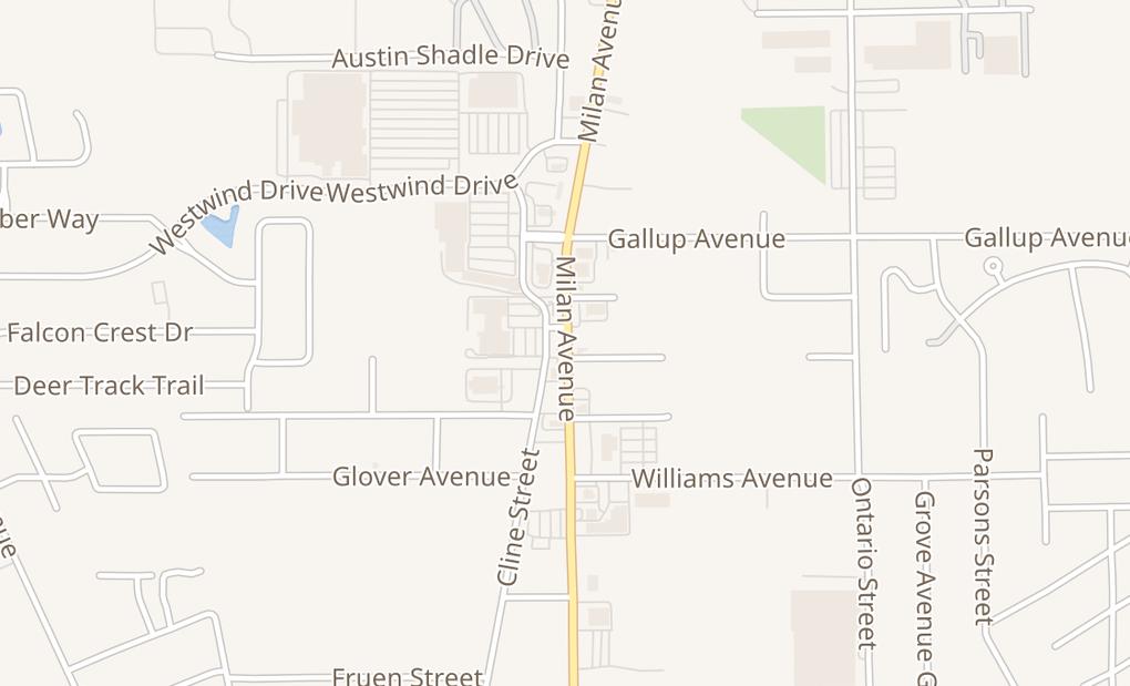map of 201 Milan AveNorwalk, OH 44857