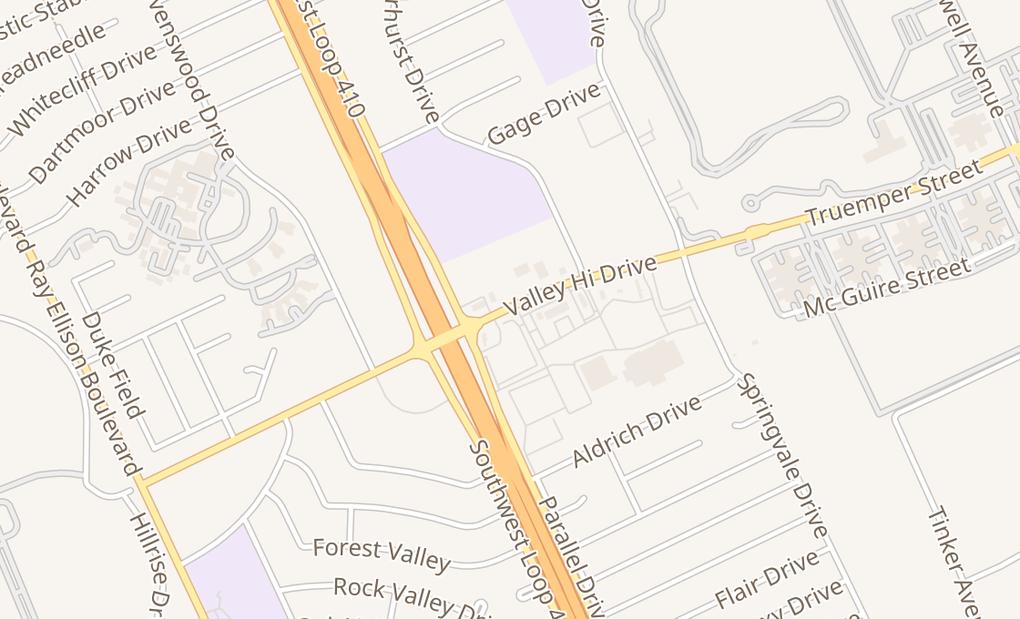 map of 410 Valley Hi Dr Ste 302San Antonio, TX 78227