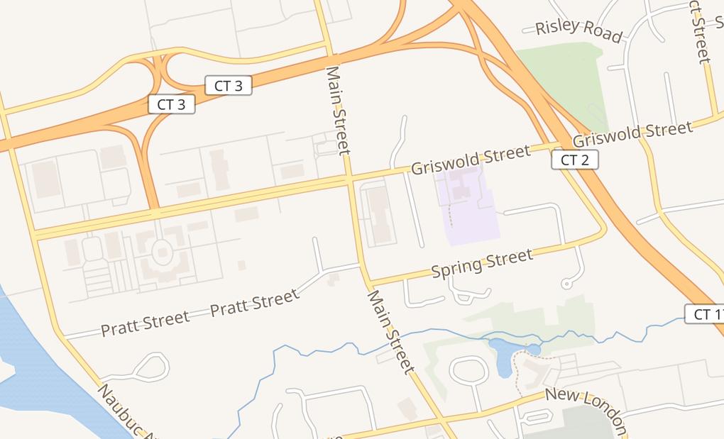 map of 2862 Main StGlastonbury, CT 06033