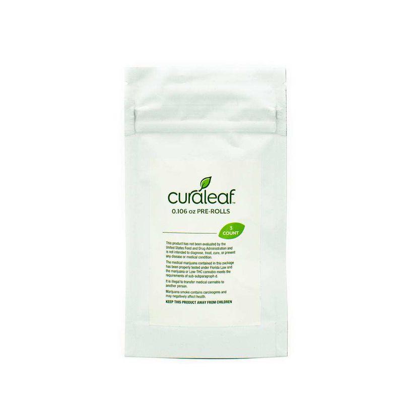 THC Pre Rolls Cherry Pie Haze (CPH)-Hybrid-15% THC-0.106oz - Curaleaf