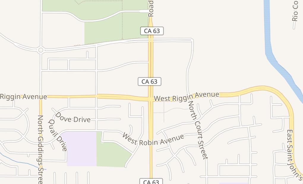 map of 3030 N Dinuba Blvd Ste 5CVisalia, CA 93291