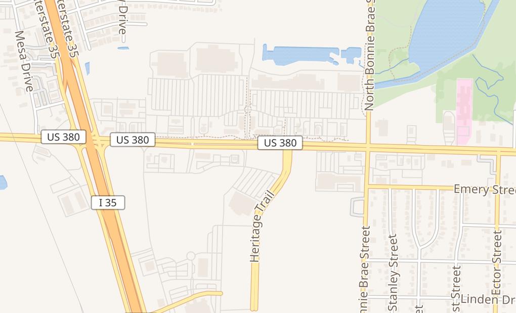 map of 2515 W University Dr Ste 1029Denton, TX 76201