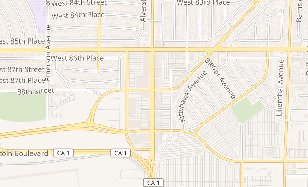 map of 8808 S Sepulveda BlvdLos Angeles, CA 90045