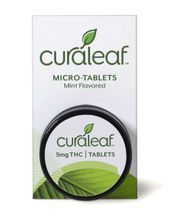 Premium Mint-Flavored Micro-Tablets 1:20 at Curaleaf Carle Place