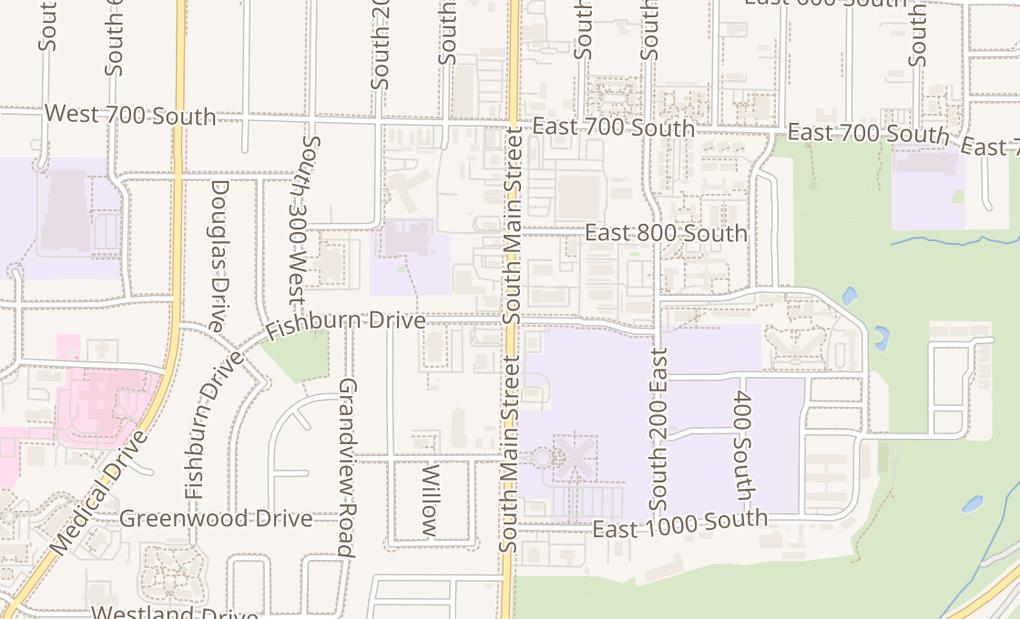 map of 888 S Main St Ste 103Brigham City, UT 84302