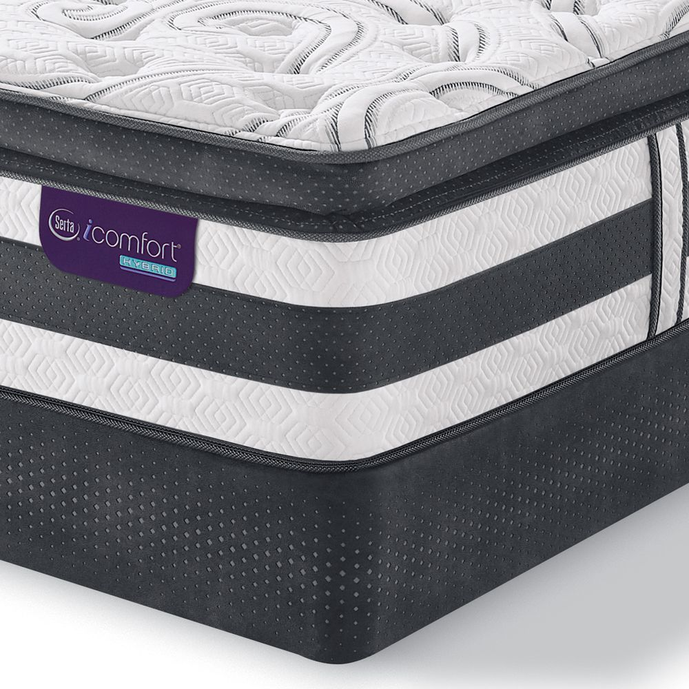 Serta Icomfort Hybrid Advisor Full Super Pillowtop Mattress