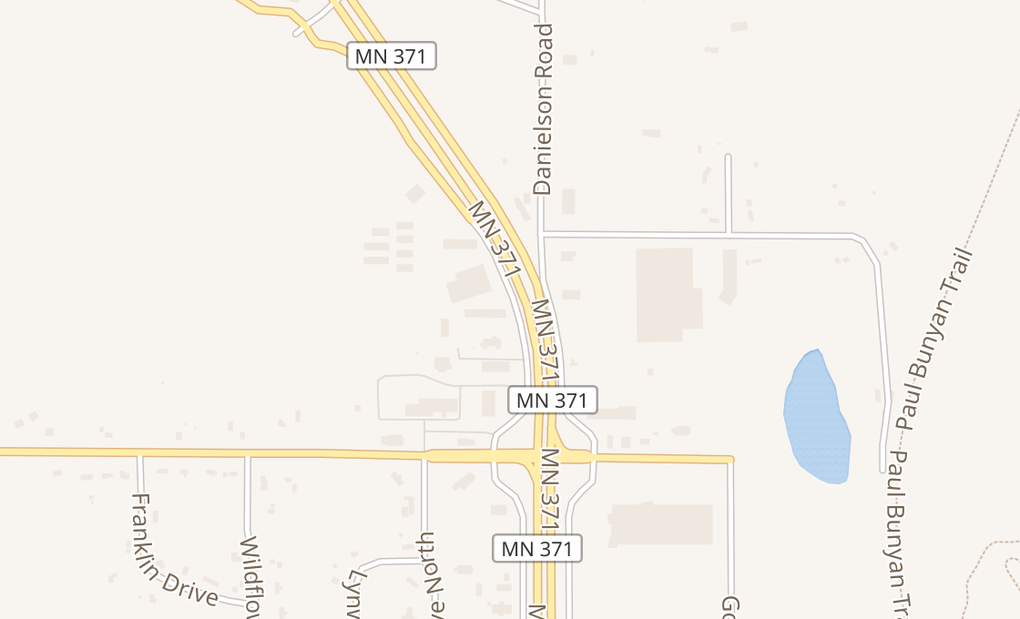 map of 15133 Edgewood Dr Ste 1Baxter, MN 56401