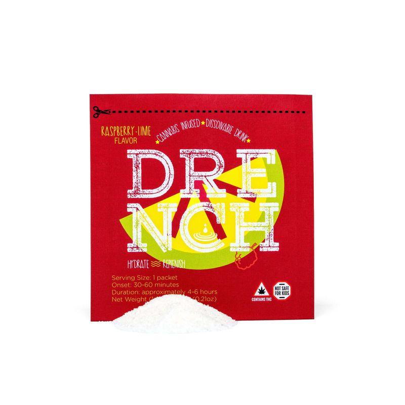 Drench Drink Mix - Raspberry Lime   5mg - Temescal Wellness