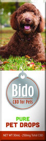 Bido Hemp CBD Drops, Pure Flavor - 30mL at Curaleaf Carle Place - Curbside Pick-up Only