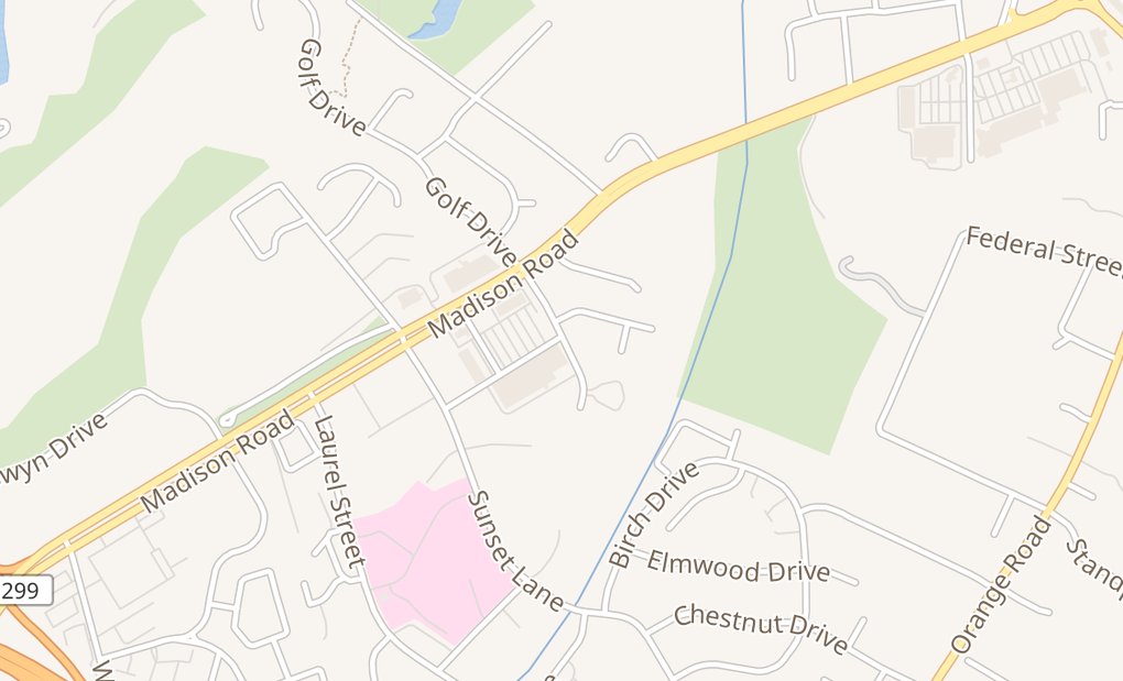 map of 500 Meadowbrook Dr Ste 110Culpeper, VA 22701