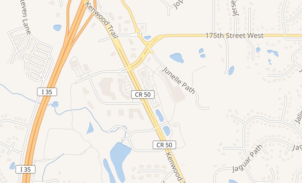map of 17742 Kenwood TrlLakeville, MN 55044