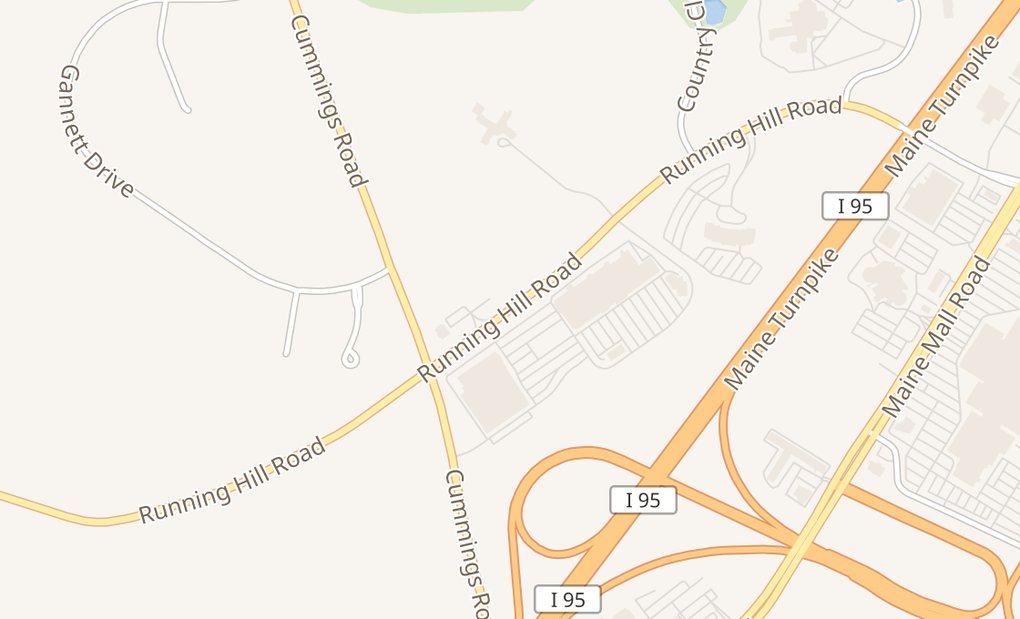 map of 200 Running Hill Rd # G4South Portland, ME 04106