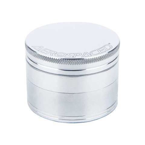 Aeropsaced 4-Piece Grinder (Natural-Silver) - Aerospaced