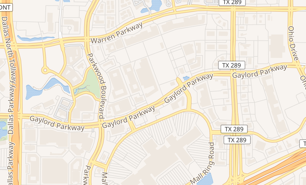 map of 8300 Gaylord Pkwy Ste 11Frisco, TX 75034