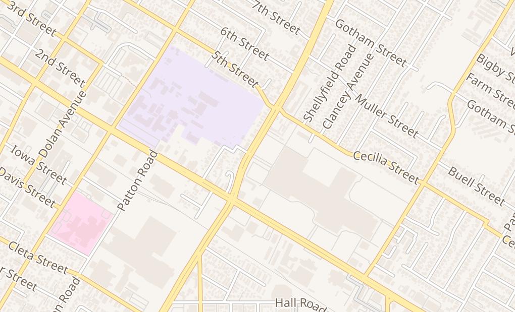 map of 251 Stonewood St Spc Mma3Downey, CA 90241