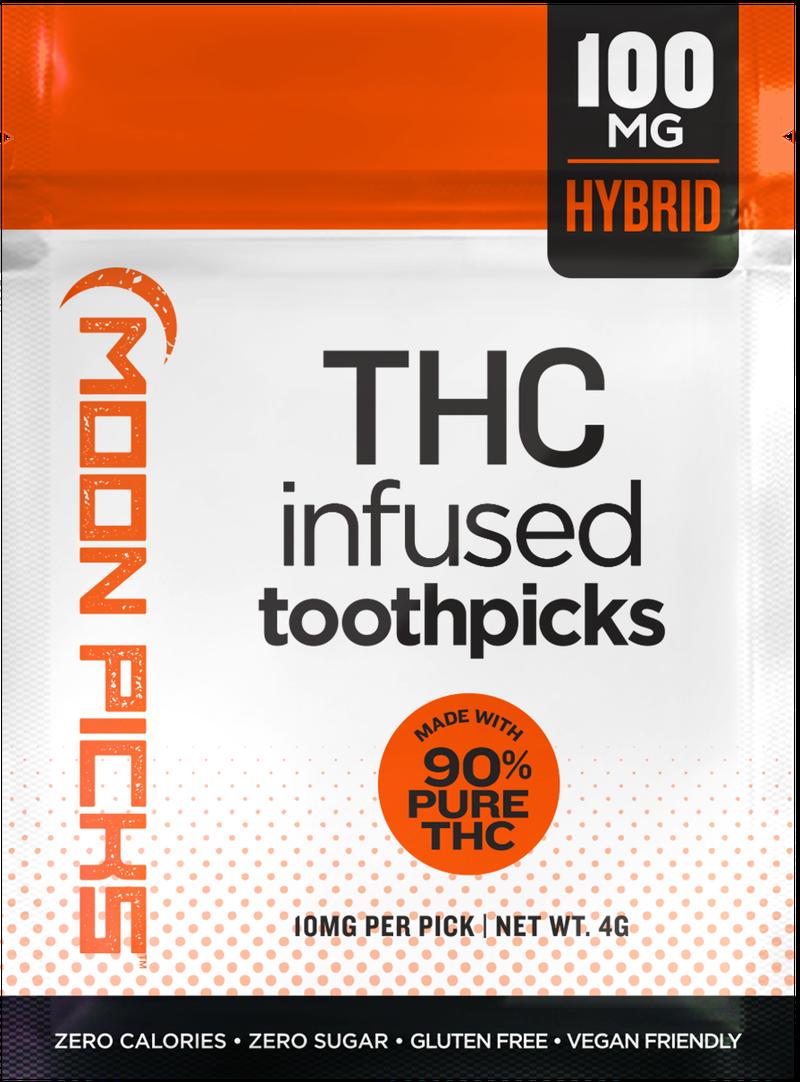 Toothpicks | Non-Medicated | 10ct - MOON PICKS