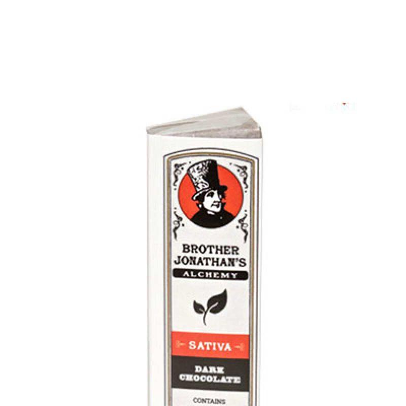 Dark Chocolate Sativa   60mg - Brother Jonathan's