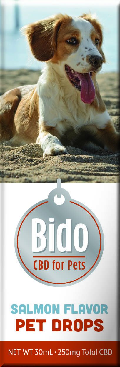 Bido Hemp CBD Drops, Salmon Flavor - 30mL - Curaleaf