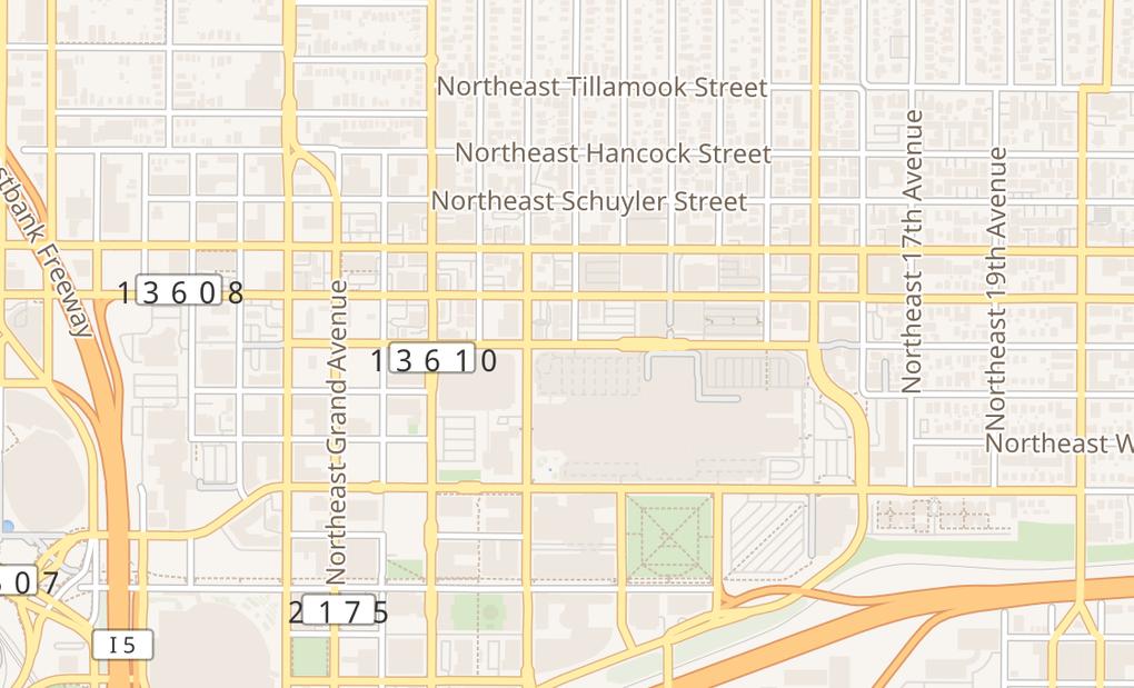 map of 928 Lloyd CtrPortland, OR 97232
