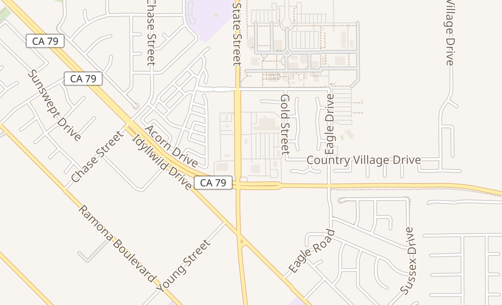 map of 1211 N State St Ste BSan Jacinto, CA 92583