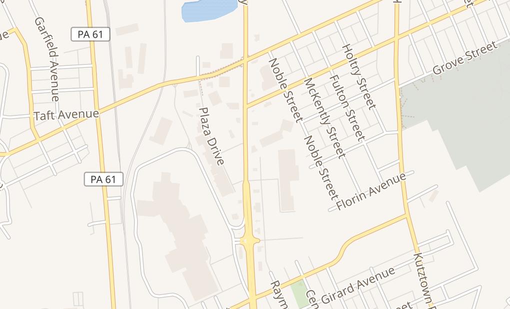 map of 3225 N 5th Street HwyReading, PA 19605