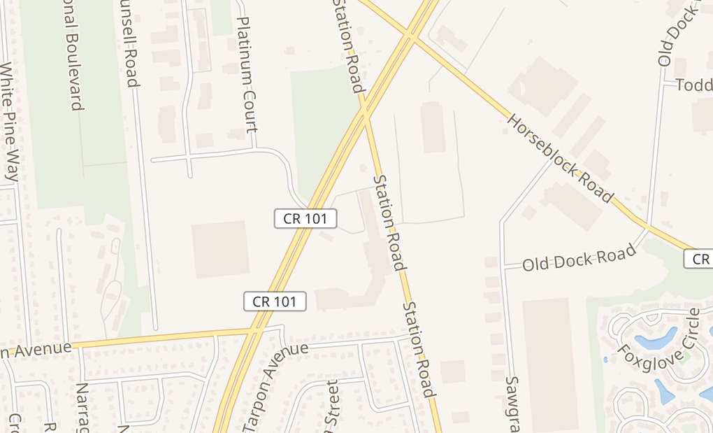 map of 700 Patchogue Yaphank RdMedford, NY 11763