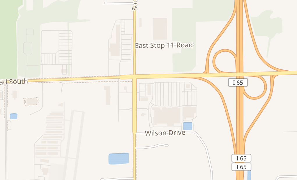 map of 1279 N Emerson Ave No. A-4Greenwood, IN 46143