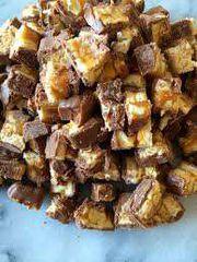 Milk Chocolate Bark, Snickers 200mg at Curaleaf Maine