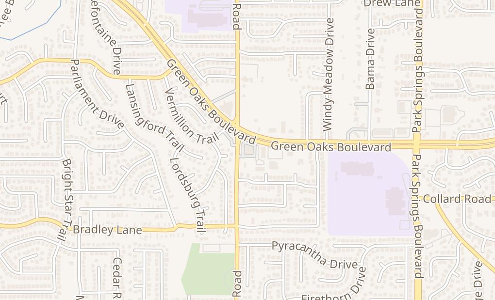 map of 4208 Sw Green Oaks BlvdArlington, TX 76017